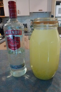 Limoncello (Grown-Ups' Cordial)