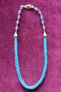 Ndebele (Herringbone) Tube Necklace