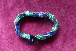 Triple Helix Beaded Jewellery