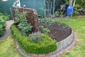 Planting the Summer Veggie Garden