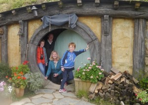Visiting Hobbiton, Middle Earth