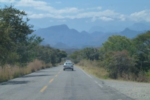 Heading back up into the mountains in Guatemala