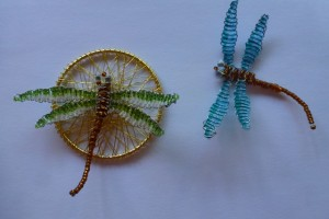 Beaded Dragonfly Jewellery
