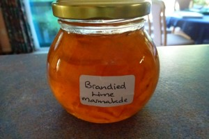 Brandied Lime Marmalade Recipe