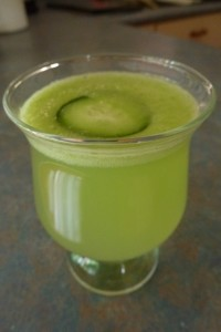 Cucumber Agua Fresca Drink