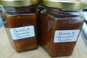 Tomato and Peach Relish Recipe