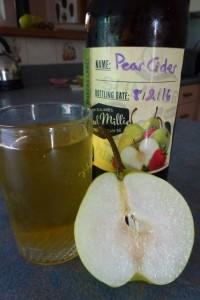 Homemade Pear Cider