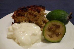 Feijoa & Coconut Cake