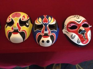 Cultural Night: mask painting