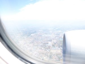 More built up nearer Beijing