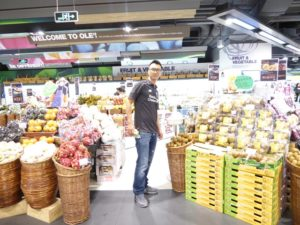 Ole Supermarket: Liverpool with Zespri Kiwifruit