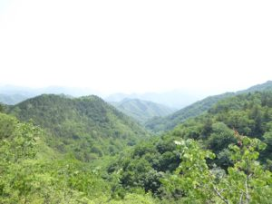 Mountainous country side