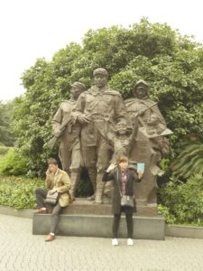 Statues in People's Park