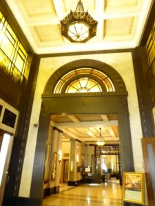 Inside Peace Hotel