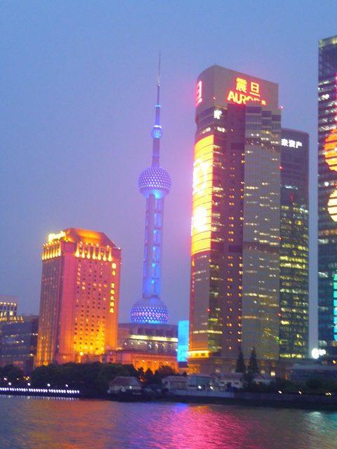 Shanghai at night