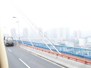 Spiral ramp to Nanpu Bridge
