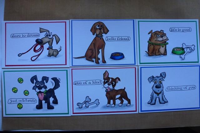 Tim Holtz' Crazy Dogs