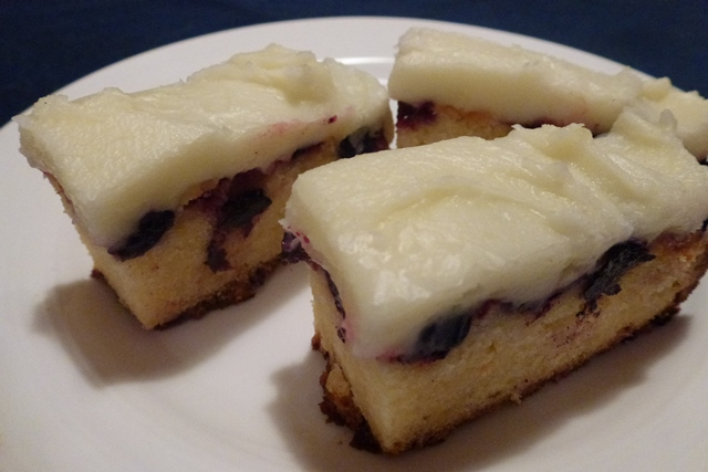 Blueberry Lemon Slice Recipe