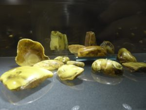 Different colours of Amber