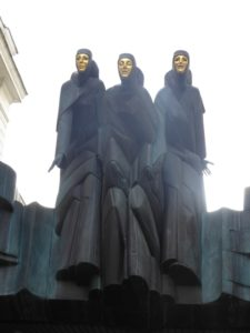 Three Muses, Lithuanian National Theatre
