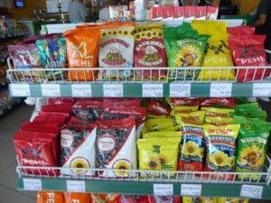 Grocery items in Belarus