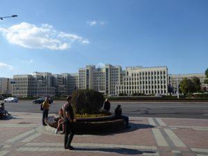 Independence Square, Minsk