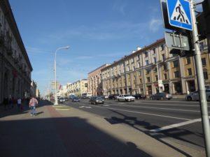 Independence Avenue, Minsk