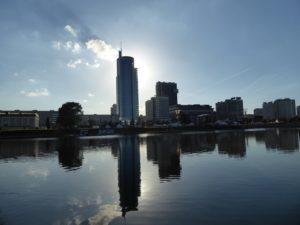Minsk from Isle of Tears