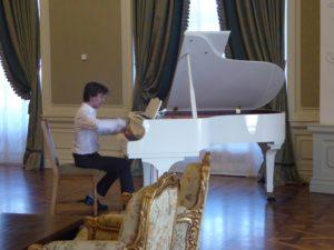 Piano recital, Ballroom