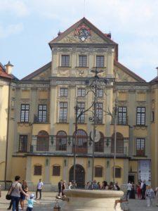 Courtyard, Niaswizh Castle