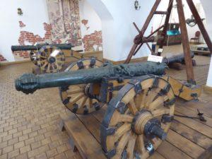 Cannon, Niaswizh Castle