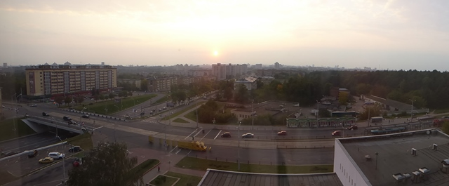 View of Minsk from Hotel