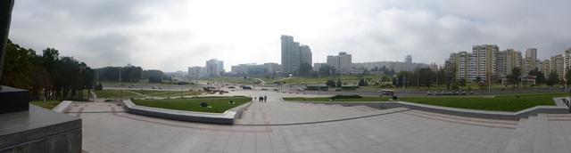 View of Minsk from War Memorial Museum
