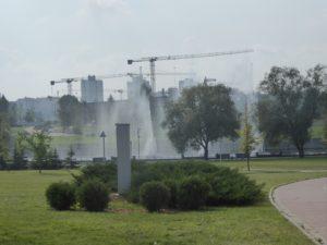 Lots of construction, Minsk