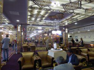 Inside the Izmailovo Hotel