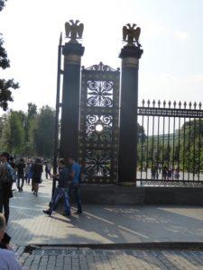 Gates to Alexander Gardens, Moscow