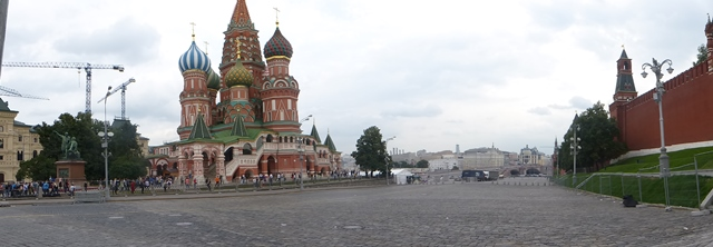 Red Square towards St Basil's Cathedral