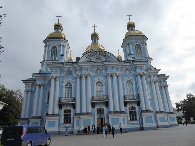 Naval Cathedral, St Petersburg
