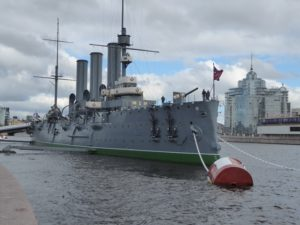Cruiser Aurora, St Petersburg
