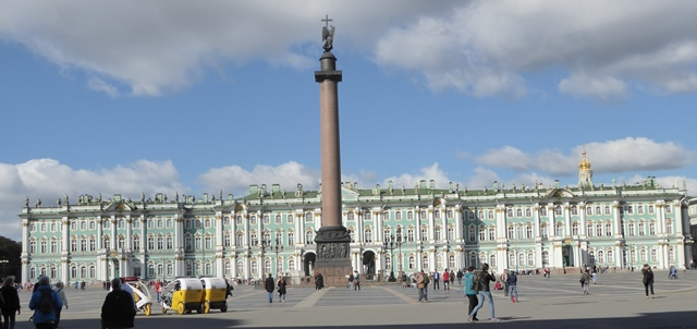 The Winter Palace and Alexander Column