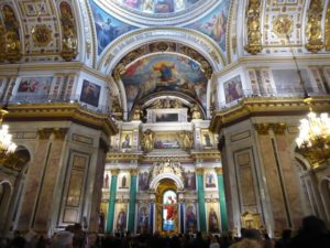 St Isaac's Cathedral, interior