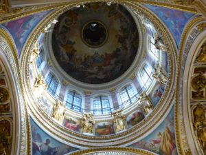 St Isaac's Cathedral, domed ceiling