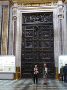 St Isaac's Cathedral, bronze doors