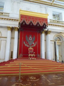 Throne, The Hermitage