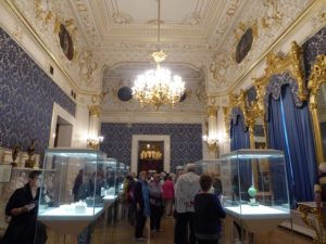 Blue Room, Faberge Museum