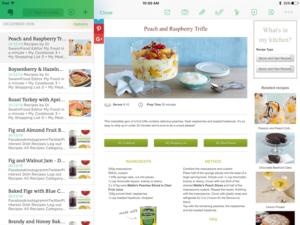 Save an online recipe