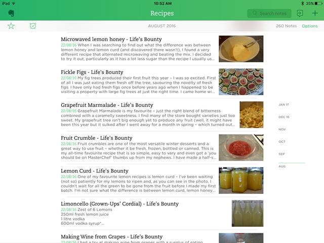 Recipes from Life's Bounty