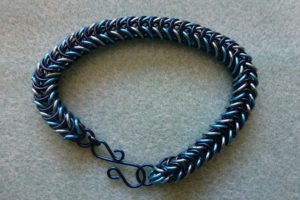 Box chain or Mermaid Tail bracelet
