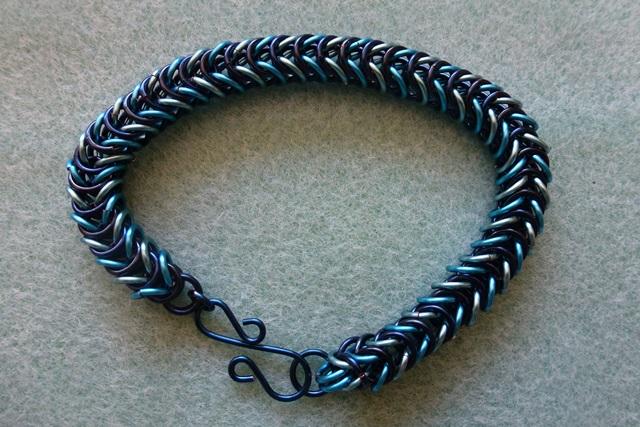 Box chain or Mermaid Tail bracelet