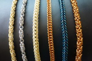 Making Chain Maille Jewellery